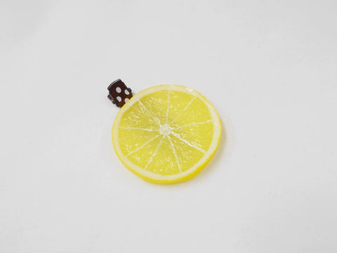 Lemon Slice Hair Clip