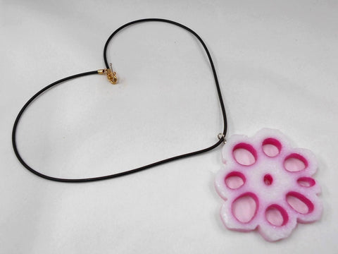 Lotus Root (Flower-Shaped) Necklace