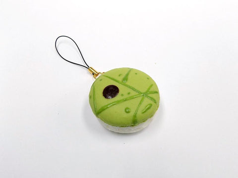 Macaron (green salad) Cell Phone Charm/Zipper Pull