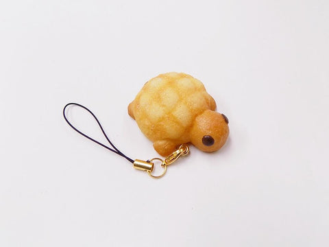 Melon Bread (Turtle-Shaped) Cell Phone Charm/Zipper Pull