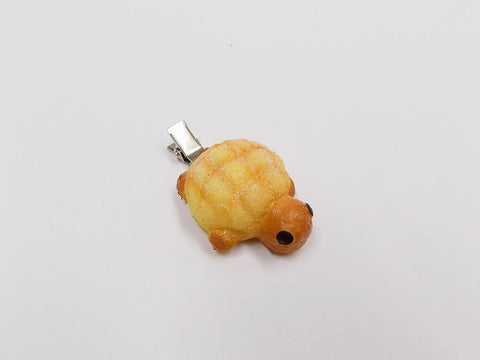 Melon Bread (Turtle-Shaped) Hair Clip