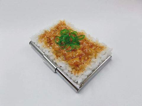 Natto (Fermented Soybeans) & Rice Business Card Case