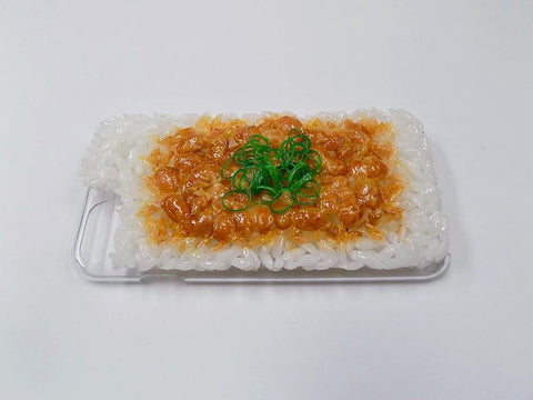 Natto (Fermented Soybeans) & Rice iPhone 8 Plus Case