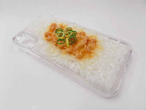 Natto (Fermented Soybeans) & Rice iPhone X Case