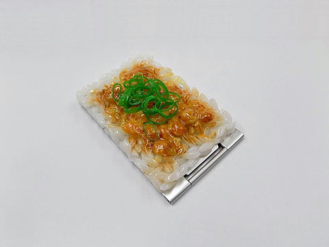 Natto (Fermented Soybeans) & Rice (small) Mirror
