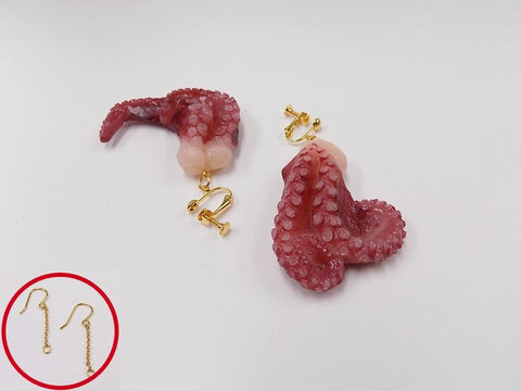 Octopus Ver. 3 Pierced Earrings