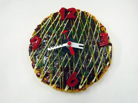 Okonomiyaki (Pancake) (small) Wall Clock
