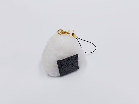 Onigiri (Rice Ball) (medium) Cell Phone Charm/Zipper Pull