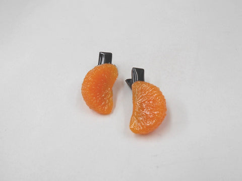 Orange Hair Clip (Pair Set)