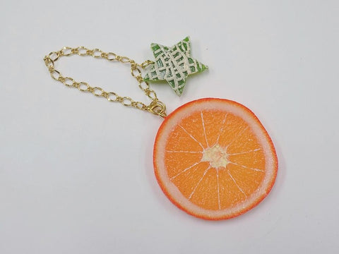 Orange Slice & Melon (Star-Shaped) (small) Bag Charm