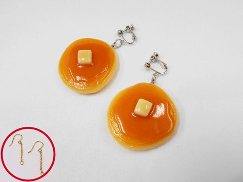 Pancake Pierced Earrings