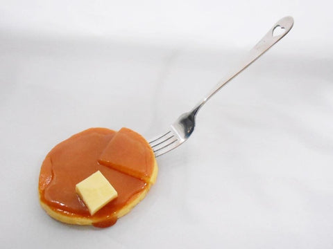 Pancake with Butter & Maple Syrup Mirror