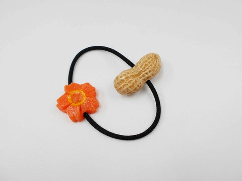 Peanut & Flower-Shaped Carrot Ver. 1 (mini) Hair Band