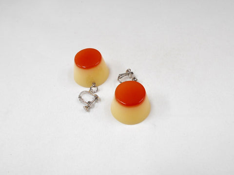Pudding Clip-On Earrings