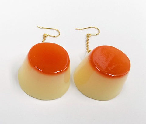 Pudding Pierced Earrings