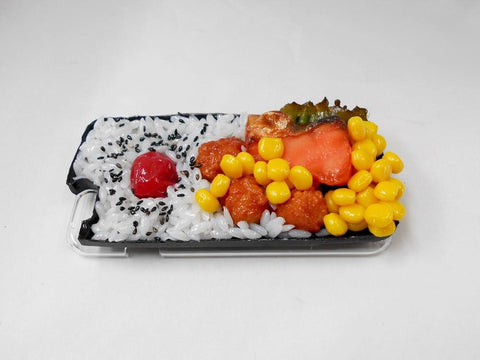 Salmon & Kara-age (Boneless Fried Chicken) Bento (new) iPhone 8 Plus Case
