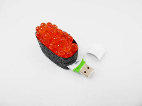 Salmon Roe Battleship Roll Sushi USB Flash Drive (4GB)