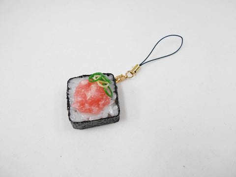 Scallion & Tuna Roll Sushi Cell Phone Charm/Zipper Pull