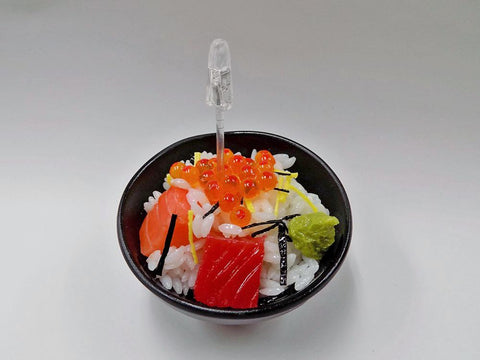 Seafood Rice Bowl Small Size Replica