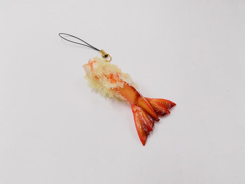 Shrimp Tail Tempura Cell Phone Charm/Zipper Pull