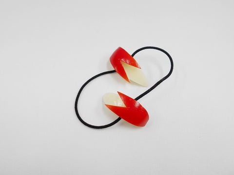 Sliced Apple (small) Hair Band (Pair Set)