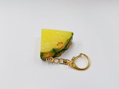 Sliced Pineapple Keychain