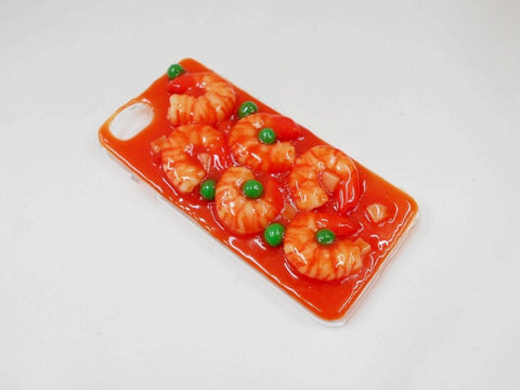 Stir-Fried Shrimp with Chili Sauce iPhone 7 Case