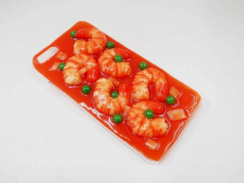 Stir-Fried Shrimp with Chili Sauce iPhone 8 Plus Case