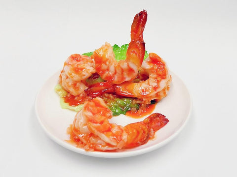Stir-Fried Shrimp with Chili Sauce Smartphone Stand
