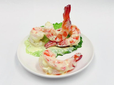 Stir-Fried Shrimp with Mayonnaise Smartphone Stand