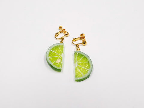 Sudachi (half-size) Clip-On Earrings