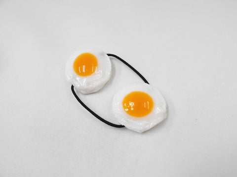 Sunny-Side Up Egg (small) Hair Band (Pair Set)