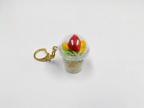 Tossed Salad with Pasta (mini) Keychain