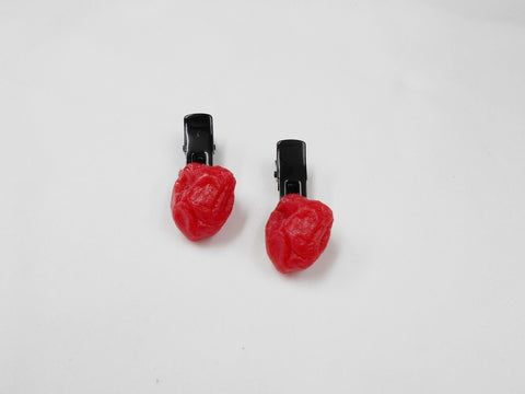 Umeboshi (Pickled Plum) (small) Hair Clip (Pair Set)