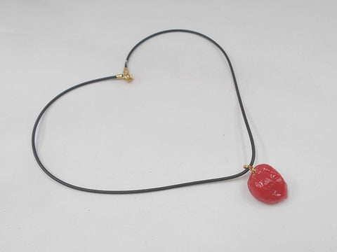 Umeboshi (Pickled Plum) (small) Necklace