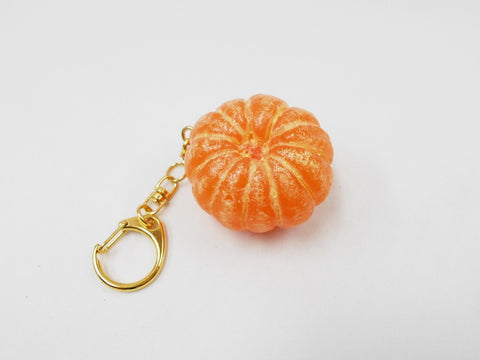 Whole Peeled Orange Keychain