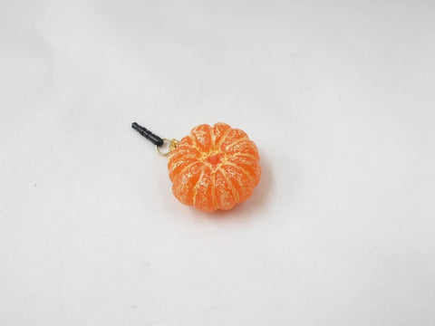 Whole Peeled Orange (small) Headphone Jack Plug