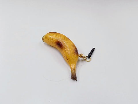 Whole Ripened Banana (mini) Headphone Jack Plug