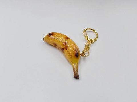 Whole Ripened Banana (mini) Keychain