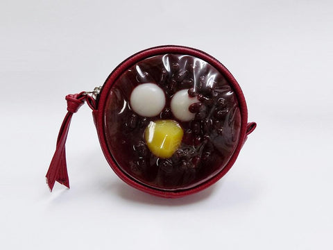Zenzai (Sweet Red Bean Soup) Circular Purse