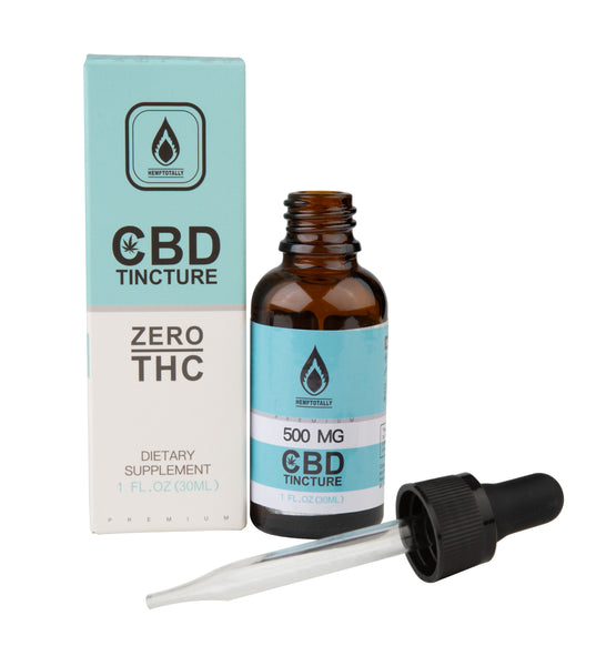 Broad-Spectrum CBD Tincture in Hemp Oil (30mL)