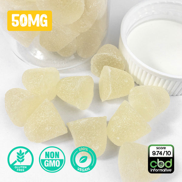 CBD GUMMY DROPS: (50MG)