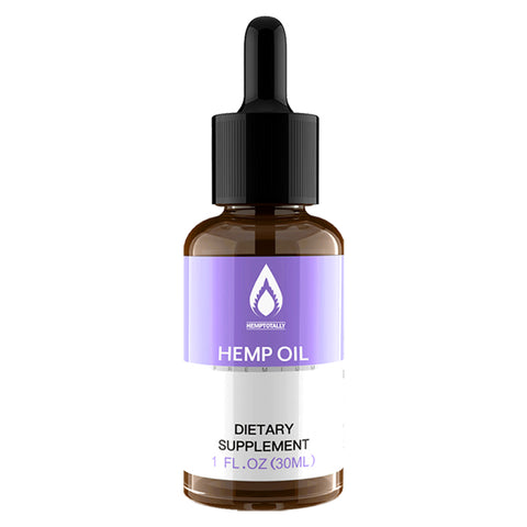 Organic Hemp Oil For Stress, Sleep, Anxiety no CBD