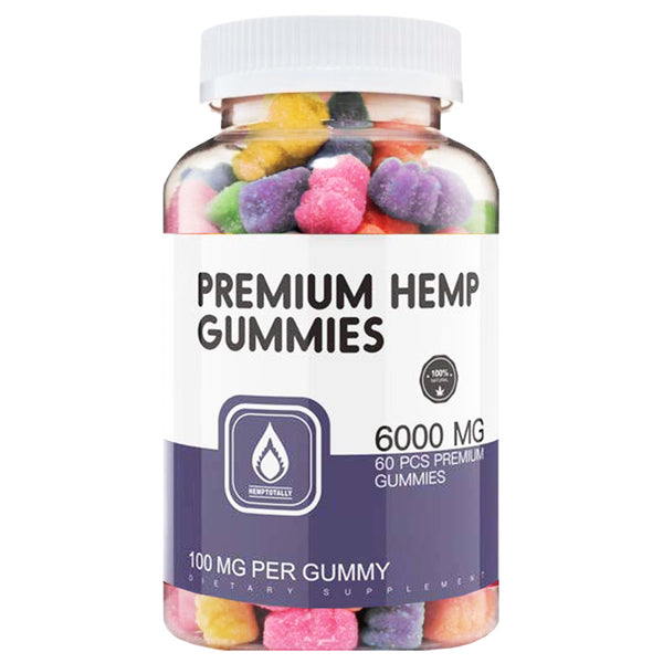 All-Natural Vegan Hemp Gummy Bears