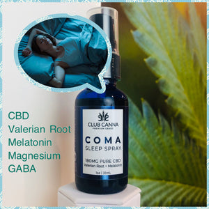 COMA CBD Sleeping Spray