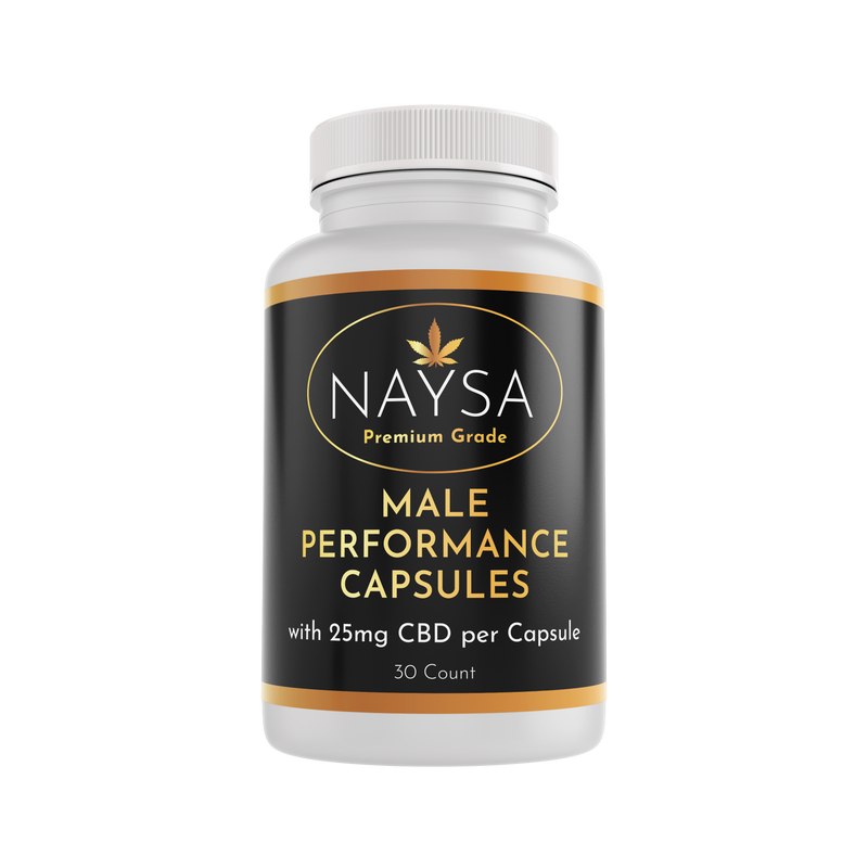 CBD Male Performance Capsules - 25mg