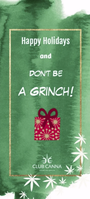 Don't Be a Grinch!