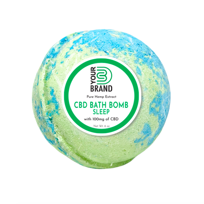 CBD Bath Bomb - Sleep (100mg CBD)