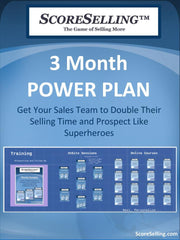 The 3-Month Sales Training Power-Plan™: Get Your Sales Team to Double Their Selling Time and Prospect Like Superheroes