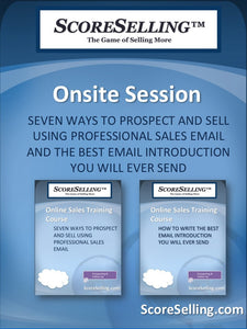 Seven Ways To Prospect And Sell Using Professional Sales Email And The Best Email Introduction You Will Ever Send